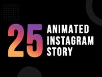 25 Animated Instagram Story