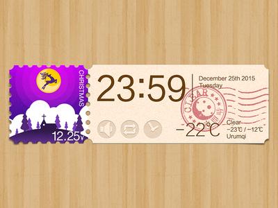 Weather app: Christmas