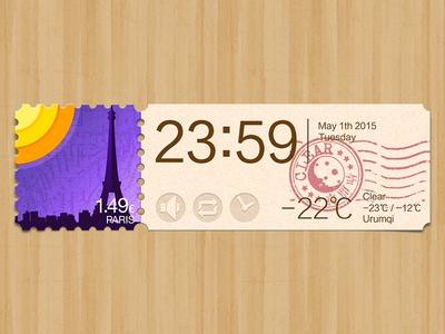 Weather app: Paris
