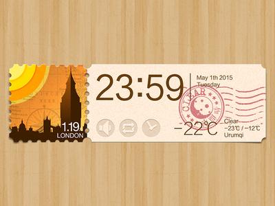 Weather app: London