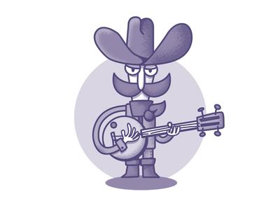 Cowboy Jonas illustration