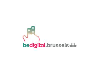 BeDigitalBrussels logo