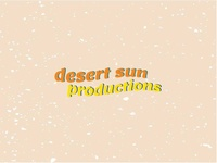 Desert Sun Productions Logo