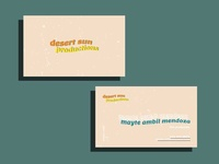DSP Business Cards
