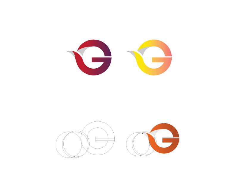 G Letter Logo cosmetics technology education partner business new business website shop e-commerce business design logo