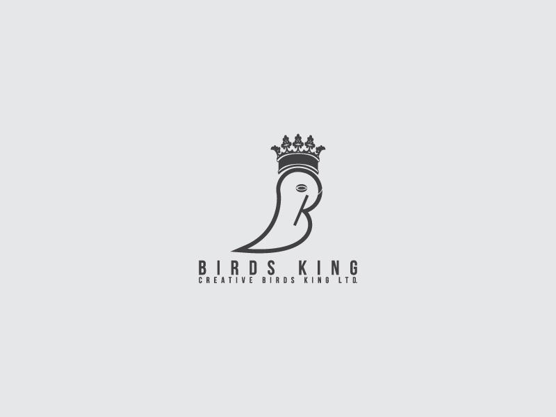 birds king logo cosmetics technology education partner business new business website shop e-commerce business product company