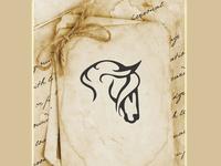 Unique horse logo design