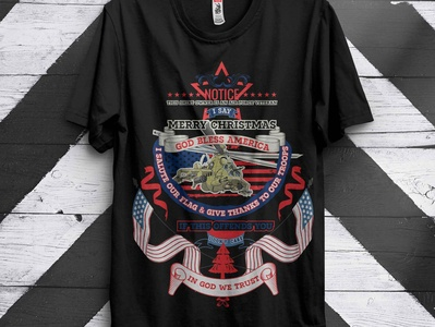 American t-shirt design merry christmas t shirt  design