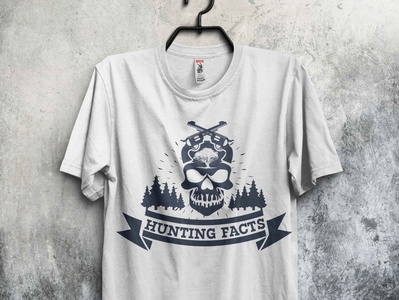 Hunting Facts t shirt design