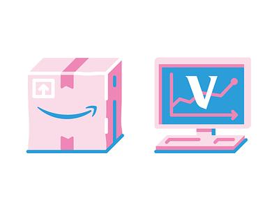 Forbes Japan illustration vector logo box amazon icon icons