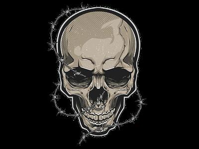 REMNANT skull adobe illustrator adobe illustrator illustration pentool vector