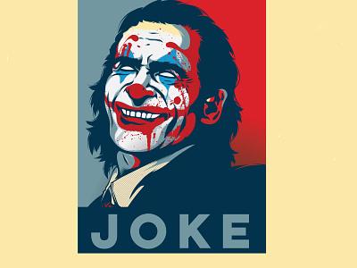 JOKE V2 joke joker dccomics adobe illustrator adobe illustrator illustration pentool vector
