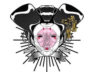 Ghost Face illustrator wacom pentool vector illustration