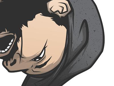 Selfie 2 pentool vector wacom illustrator