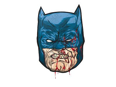 Batman batman illustration pentool vector wacom illustrator