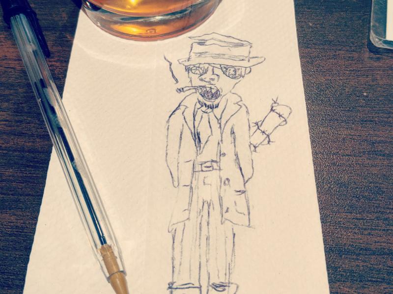 Day 11: The Bad Guy season of the bad guys club sotbgc4 monster inktober craig gleason illustration
