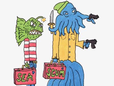 Day 12: Sea-Scum