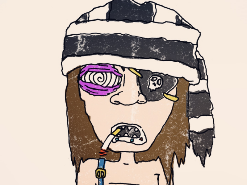 Day 16: Feral Kid season of the bad guys club sotbgc4 monster inktober craig gleason illustration