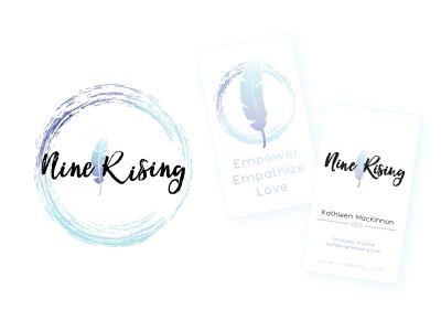 Nine Rising Brand ninerising logo graphicdesign design brand