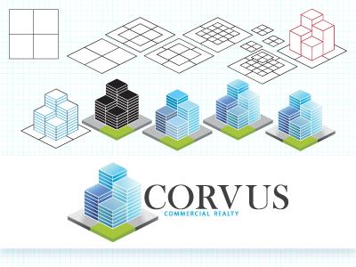 Corvus 3d brand logo corvus contest
