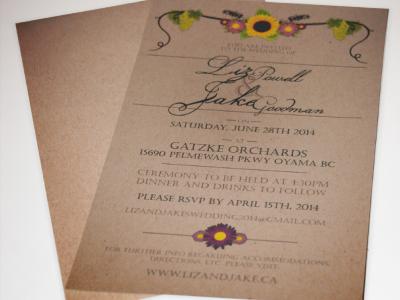 Wedding Invites stationary wedding