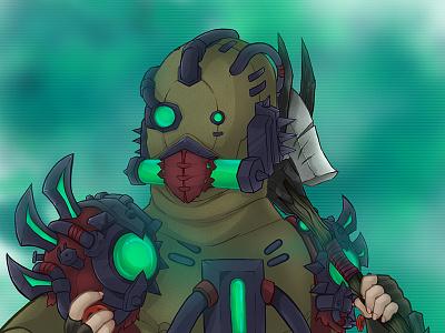 Commissioned Illustration 2 illustration commission rogue undead world of warcraft warcraft wow forsaken