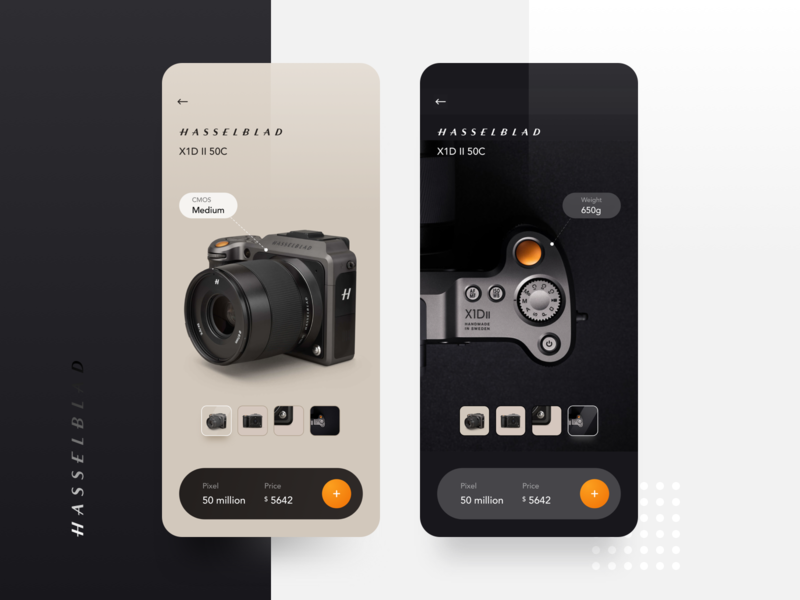 Camera display UI app ux ui typography flat 设计 design