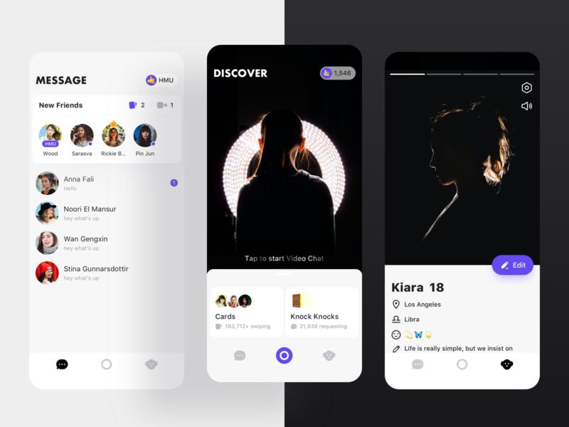 Monkey Visual Proposal mobile app flat ux ui 设计 design