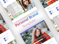 A Design Template for Personal Branding