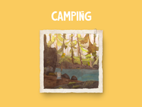 Camping under the Sun.