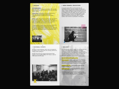 KX space / A4 folded brochure. Part 1 poster design typography map flayer design brochure design poster graphic design noise web branding inspiration digital design