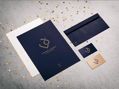Lorenzo Jacobson / Corporate identity jewellery logo jewellery vector logo stationery corporate identity corporate design typography graphic design web inspiration branding digital design