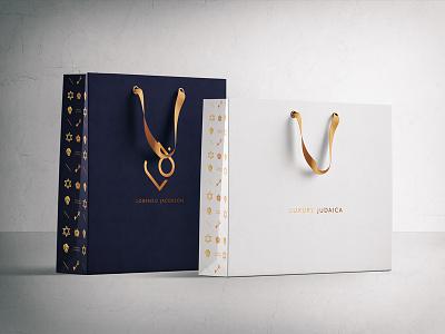 Lorenzo Jacobson / Packaging design photoshop shopping bag jewellery logo jewellery shop packaging design packaging logo typography web graphic design branding digital design