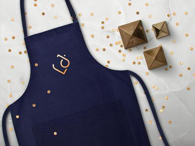 Lorenzo Jacobson / Apron design gold jewellery logo jewellery shop jewellery clothing design corporate identity apron fashion design graphic design inspiration web branding digital design