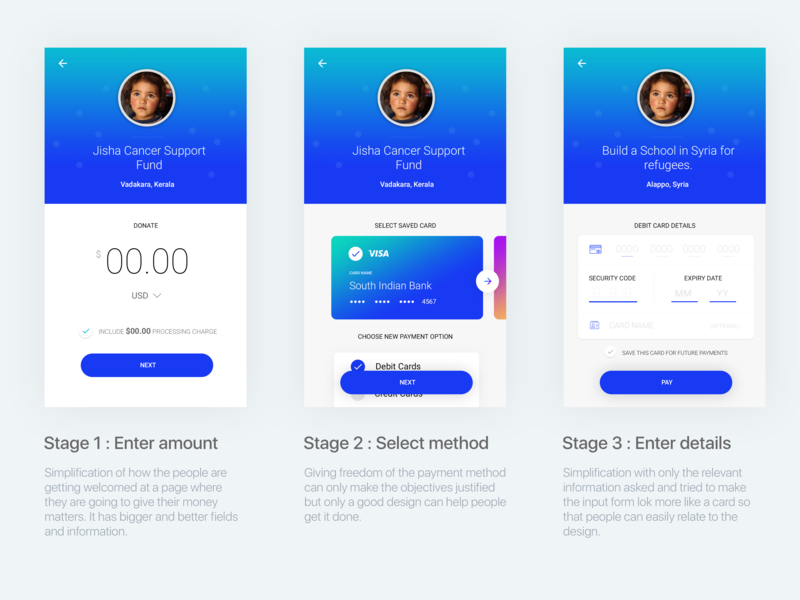 1/2 of Payment process UI, App UI/UX, Payment UX cancer charities pay payment form payment gateway payment method payment app font typography app design ux ui