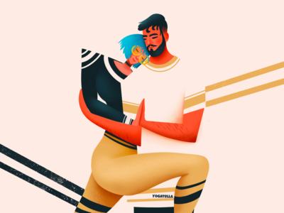 Love in the Time of Covid blog editorial digital palette colorful relationships love quarantine design illustrator illustration