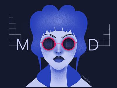 Mood sell shop glasses illustrator illustration typography graphic designer graphic design sunglasses marketing