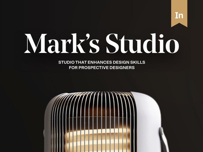 Mark's Studio — Behance Featured Interaction students creative concept featured behance featured behance marks studio studio clean ux blog branding exploration website web minimal ui typography design