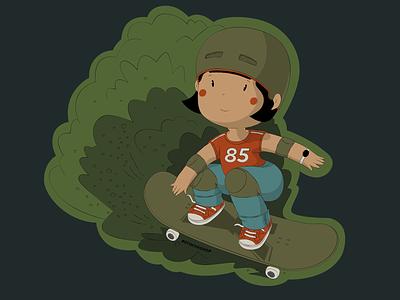 Sticker #2 vector character print design illustration