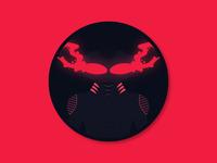 Black Manta Coaster