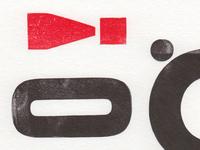 Inky Fingers - Letterpress