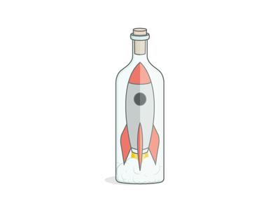 Rocket Ship (In A Bottle)