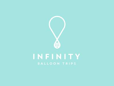 Balloon Logo V.2 daily logo challenge fly sky trip logo hot air balloon balloon