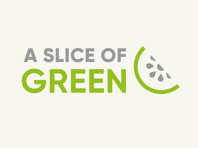 Slice Logo kitchenware kiwi fruit minimal identity design branding lifestyle brand sustainable ethical green slice logo