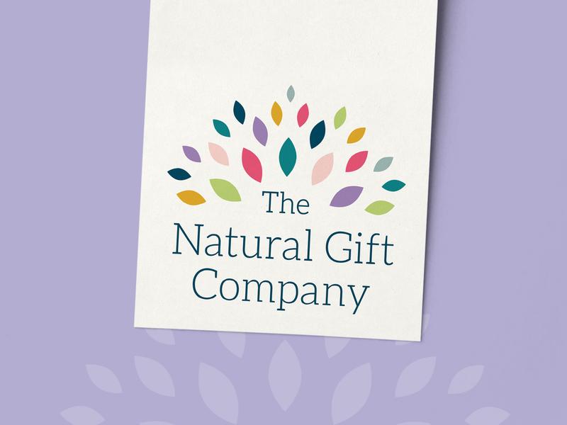 The Natural Gift Company Logo Design