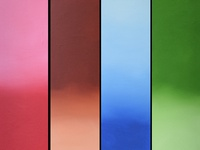 Rainbow Multi Panel Wall Art Triptych wall decor