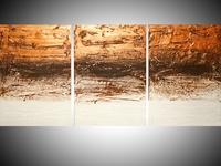 Copper Tones painting, in metallic paint 5 sizes