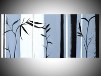 chinese painting in a modern style
