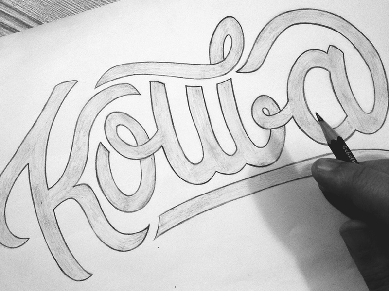 Kouba - Sketch dz algerie algeria pencil drawing pencil sketch pencil art pencil handmadetype handmadefont handwriting handwritten hand drawn handmade words letters lettering sketchpad sketchbook sketching sketch