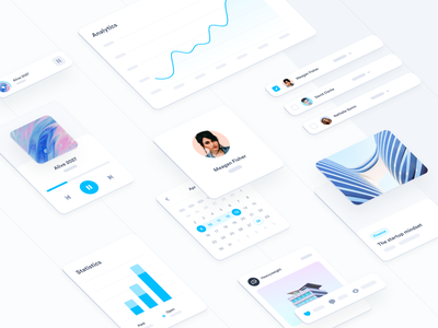 Design system components cards chart uidesign system component library flat isometric interfaces interface ui kit ui saas elements design system ui component ui components ui elements ui element component components